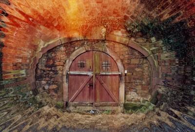 Knarfotos porte de cave au bierkeller - Porte de cave securisee ...